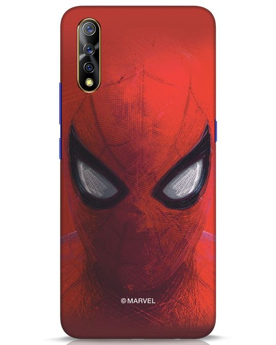 Shop Spiderman Red Vivo S1 Mobile Cover (AVL)-Front