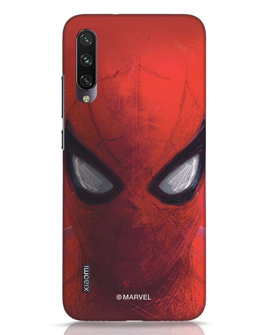 Shop Spiderman Red Xiaomi Mi A3 Mobile Cover (AVL)-Front