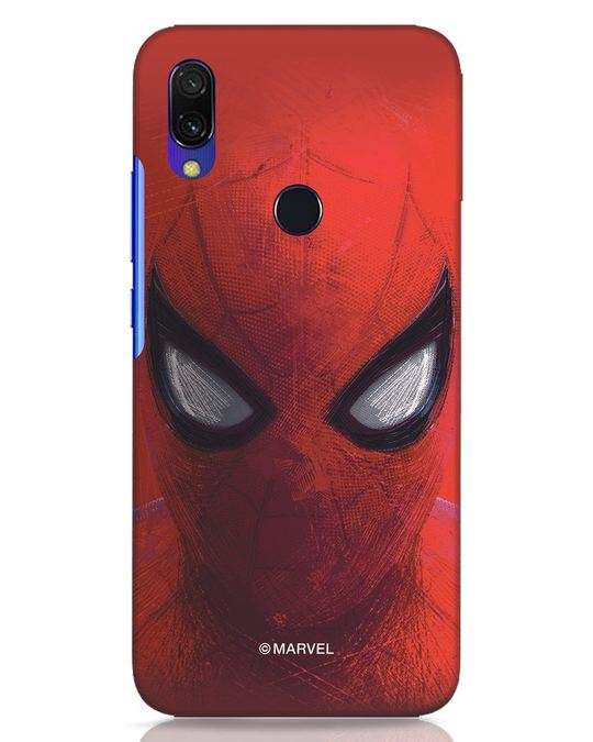 Shop Spiderman Red Xiaomi Redmi Y3 Mobile Cover (AVL)-Front