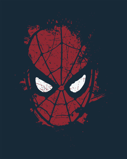 Shop Spiderman Splatter Half Sleeve T-Shirt (SPL)