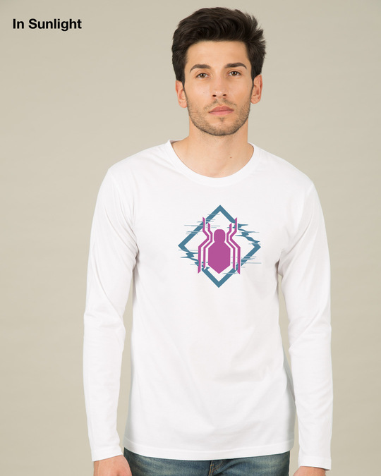 Shop Spidey Glitch Sun Active T-Shirt (FFHL)-Full