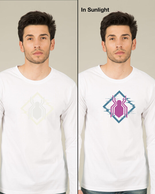 Shop Spidey Glitch Sun Active T-Shirt (FFHL)