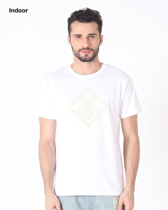 Shop Spidey Glitch Sun Active T-Shirt (FFHL)-Back