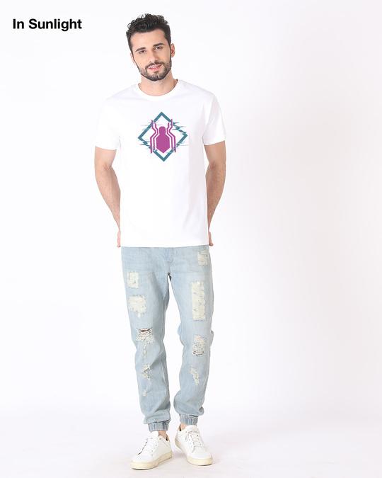 Shop Spidey Glitch Sun Active T-Shirt (FFHL)