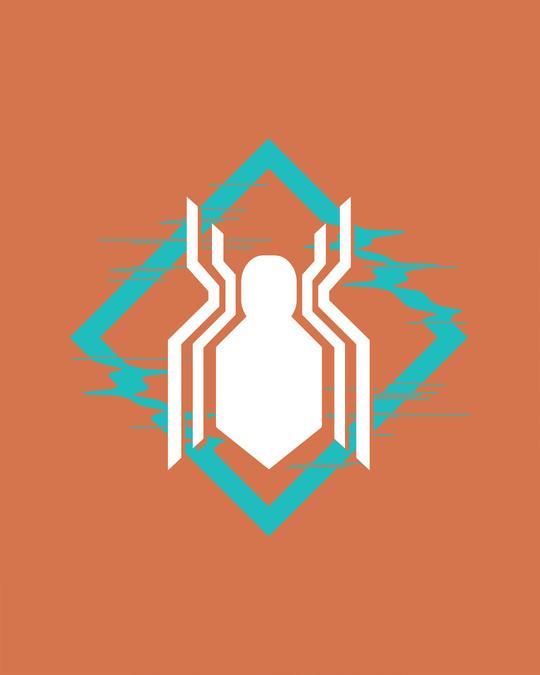 Shop Spidey Logo Glow In Dark Vest (FFHL) ( GID )