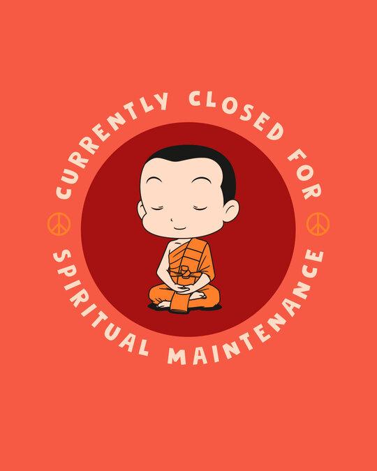Shop Spirit Maintenance Half Sleeve T-Shirt Oxyfire