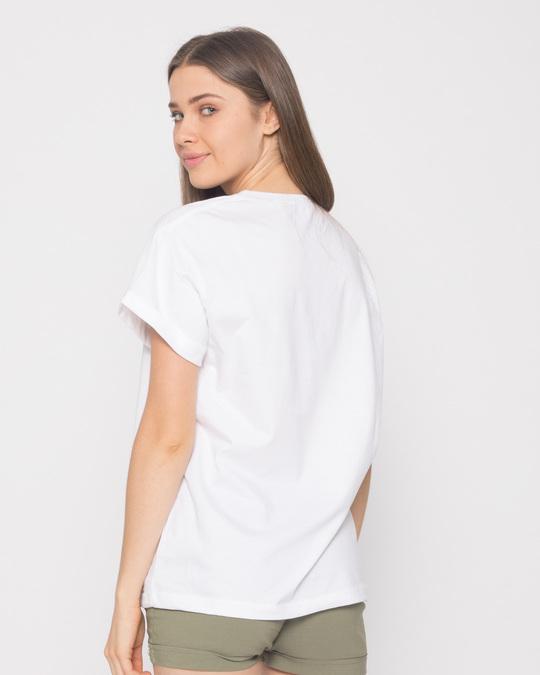 Shop Spongebob Beach Chilling Boyfriend T-Shirt (SBL)-Full