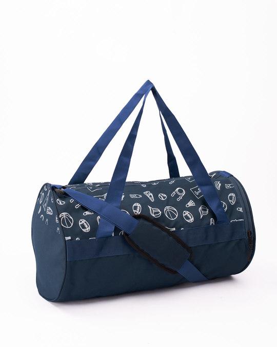 Shop Sports Star Duffle Bag-Back