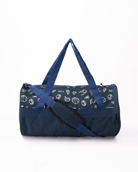 Shop Sports Star Duffle Bag-Front