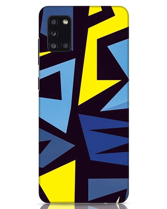 Shop Sporty Abstract Samsung Galaxy A31 Mobile Cover-Front