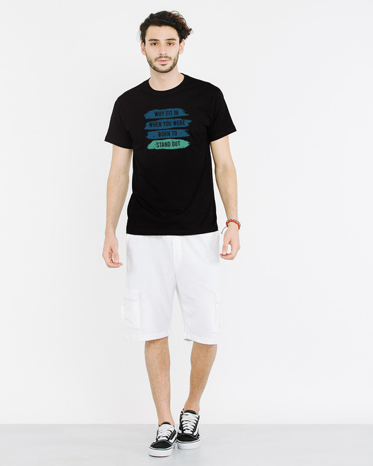 Shop Stand Out Brush Half Sleeve T-Shirt