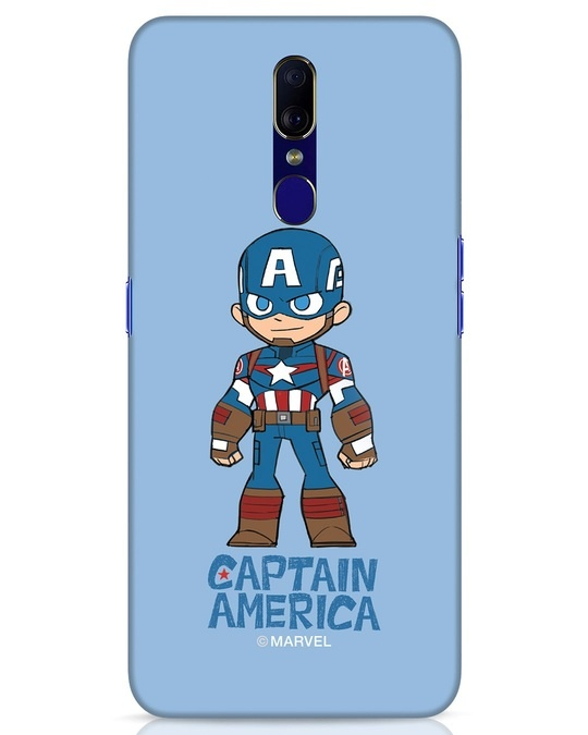 Shop Star Captain America Oppo F11 Mobile Cover-Front