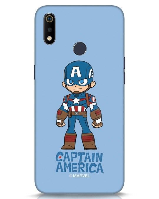 Shop Star Captain America Realme 3i Mobile Cover-Front