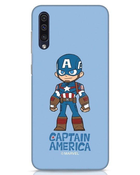 Shop Star Captain America Samsung Galaxy A50 Mobile Cover-Front