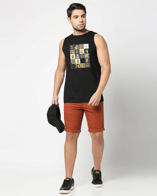 Shop Star Wars Blocks Vest (SWL) Black-Design