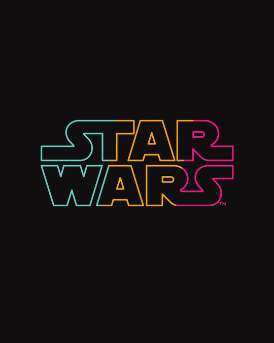 Shop Star Wars Colorful Full Sleeve T-Shirt (SWL)