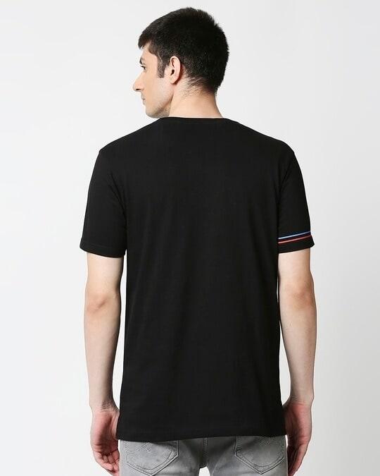 Shop Star Wars Half Sleeves Hperprint T-Shirt (SWL) Black-Design