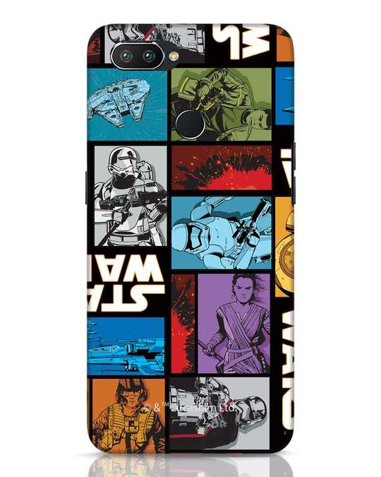 Shop Star Wars Retro Realme 2 Pro Mobile Cover (SWL)-Front