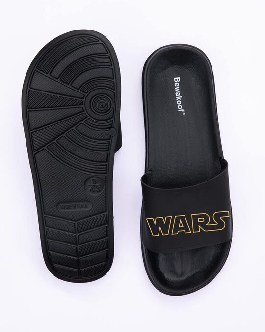 Shop Star Wars Slide Sliders (SWL) Black