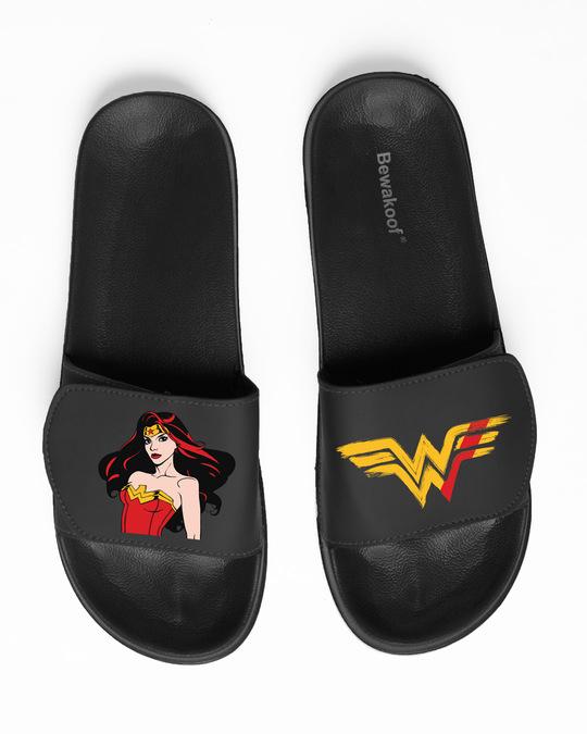 Shop Stare Of Wonder Velcro Sliders-Back