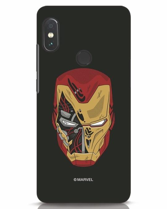 Shop Stark Break Xiaomi Redmi Note 5 Pro Mobile Cover (AVL)-Front