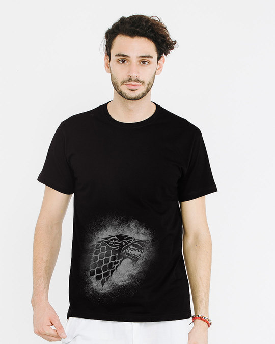 Shop Stark Grunge Half Sleeve T-Shirt (GTL)-Back