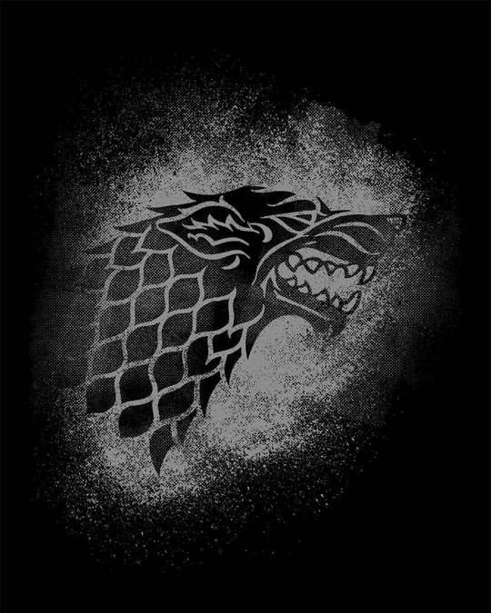 Shop Stark Grunge Half Sleeve T-Shirt (GTL)