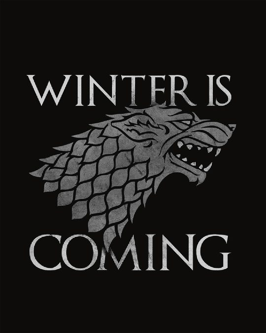 Shop Stark Winter Is Coming Boyfriend T-Shirt (GTL)