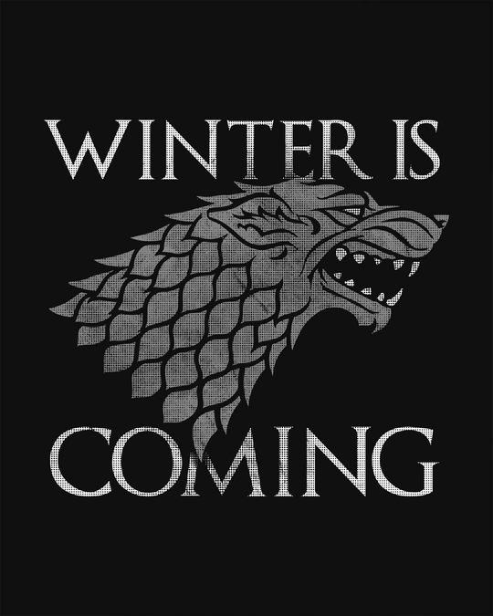 Shop Stark Winter Is Coming Sweatshirt (GTL)-Full