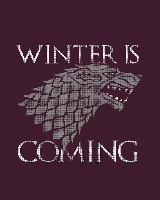 Shop Stark Winter Is Coming Sweatshirt (GTL)
