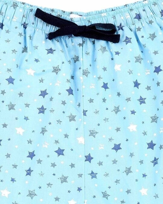 Shop Starry Blue Women's Boxer Shorts