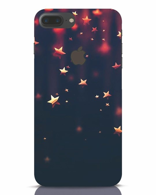Shop Starry iPhone 7 Plus Logo Cut Mobile Cover-Front