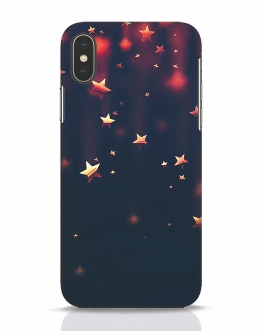 Shop Starry iPhone X Mobile Cover-Front