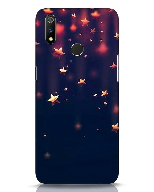 Shop Starry Realme 3 Pro Mobile Cover-Front