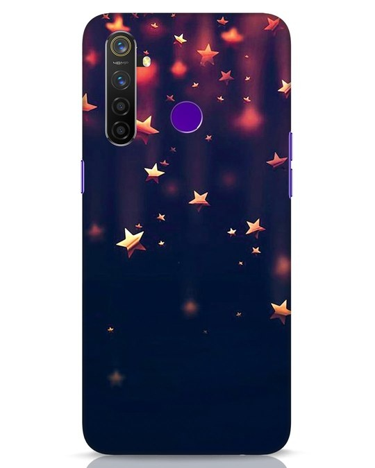 Shop Starry Realme 5 Pro Mobile Cover-Front