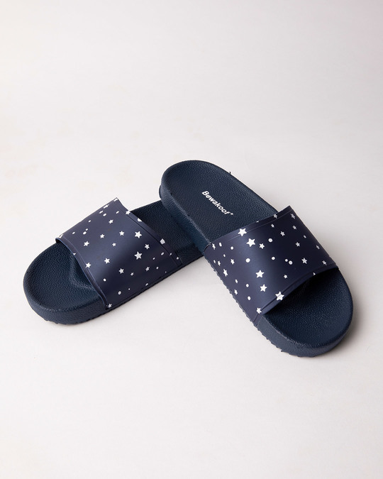 Shop Women Starry Sliders-Front