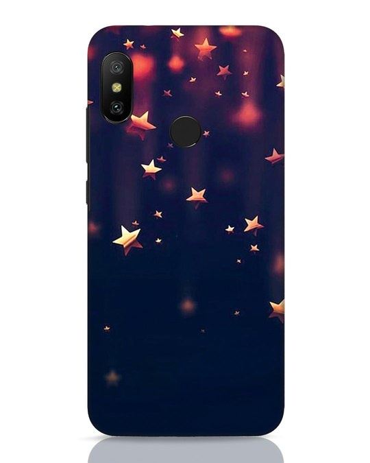 Shop Starry Xiaomi Redmi 6 Pro Mobile Cover-Front