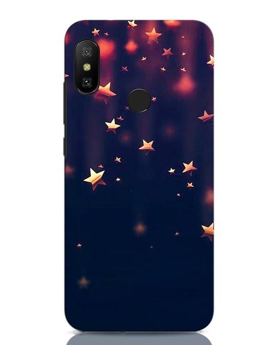 Shop Starry Xiaomi Redmi Note 6 Pro Mobile Cover-Front