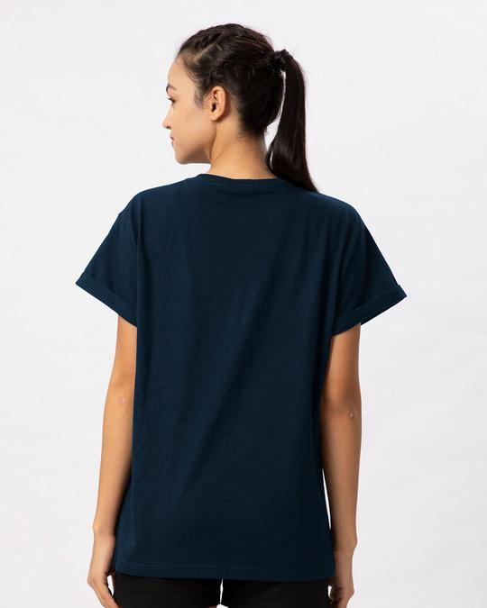 Shop Stars And Stripes Skull Boyfriend T-Shirt-Full