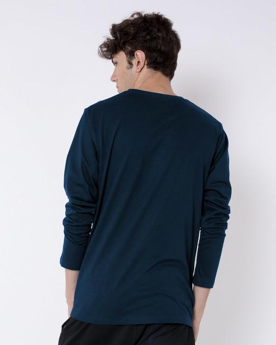 Shop Stars And Stripes Skull Full Sleeve T-Shirt-Design