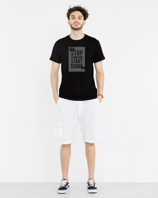 Shop Start Doing Half Sleeve T-Shirt