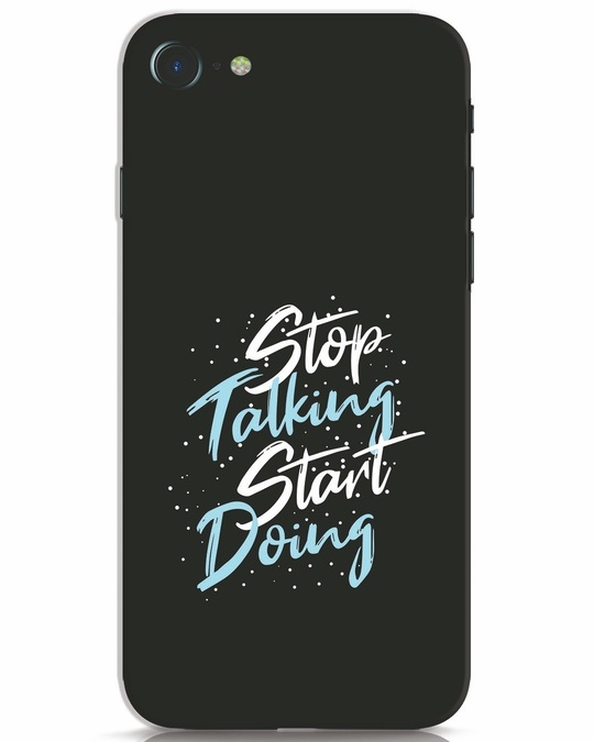 Shop Start Doing iPhone 8 Mobile Cover-Front