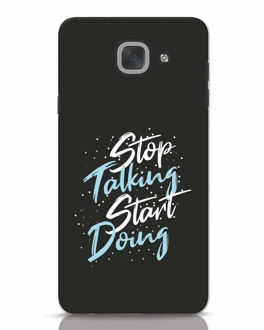 Shop Start Doing Samsung Galaxy J7 Max Mobile Cover-Front