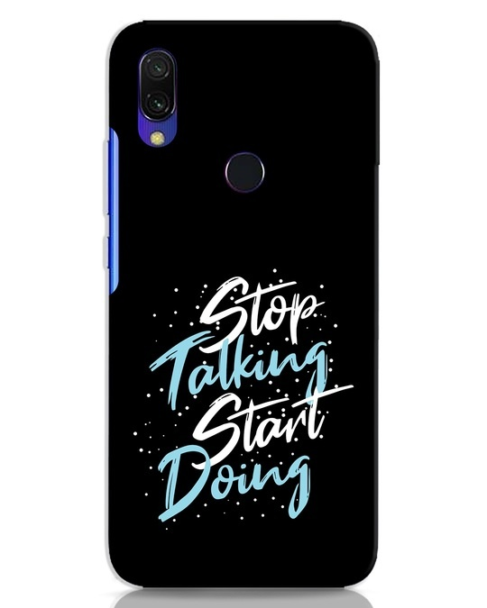 Shop Start Doing Xiaomi Redmi 7 Mobile Cover-Front