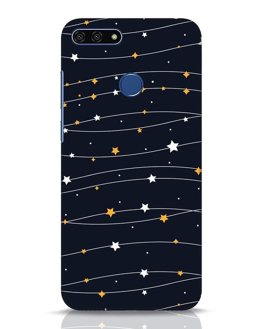 Shop Stary Huawei Honor 7A Mobile Cover-Front