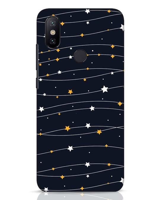 Shop Stary Xiaomi Mi A2 Mobile Cover-Front