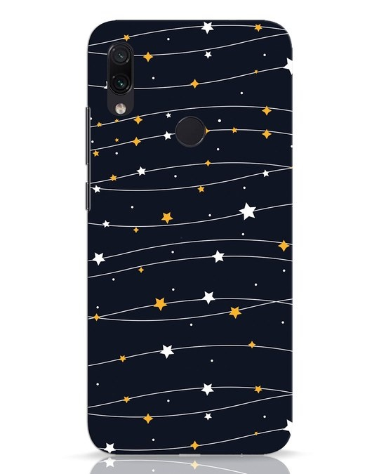 Shop Stary Xiaomi Redmi Note 7 Pro Mobile Cover-Front