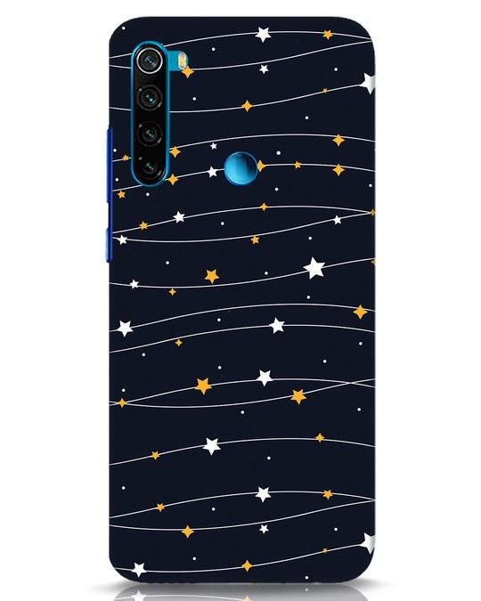 Shop Stary Xiaomi Redmi Note 8 Mobile Cover-Front