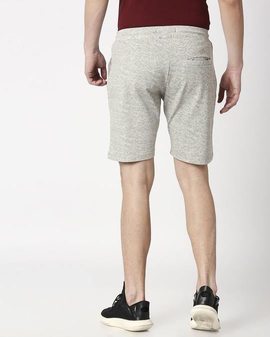 Shop Status Quo Ecru Elasticated Shorts