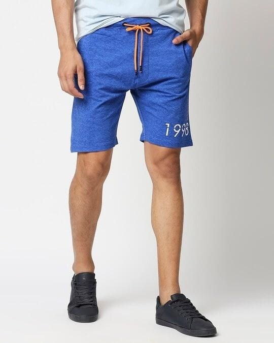 Shop Royal Elasticated Shorts-Front